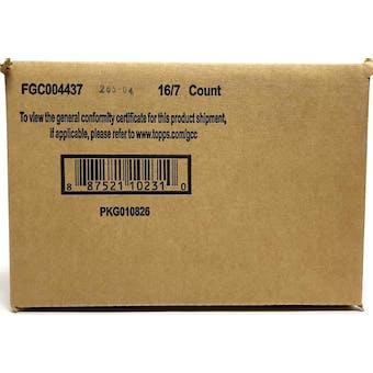 2021 Topps Gold Label Baseball Hobby 16-Box Case