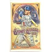 2021 Topps Gypsy Queen Baseball Hobby Pack