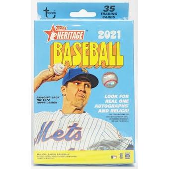2021 Topps Heritage Baseball Hanger Box (Lot of 5)