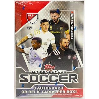 2021 Topps MLS Major League Soccer Hobby Box