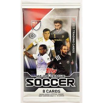 2021 Topps MLS Major League Soccer Hobby Pack