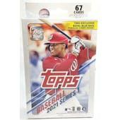 2021 Topps Series 1 Baseball Hanger Box (Royal Blue Parallels!)