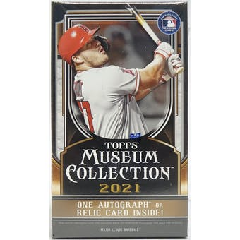 2021 Topps Museum Collection Baseball Hobby Mini-Box