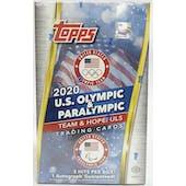 2021 Topps U.S. Olympic & Paralympic Team Hopefuls Hobby Box