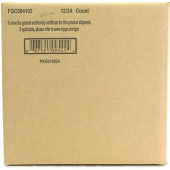 2021 Topps Series 1 Baseball Hobby 12-Box Case