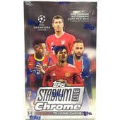 2020/21 Topps UEFA Stadium Club Chrome Soccer Hobby Box