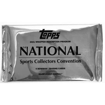 2021 Topps National Sports Collectors Convention Redemption Pack
