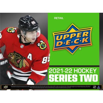2021/22 Upper Deck Series 2 Hockey Retail 24-Pack Box (Presell)