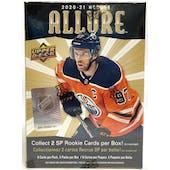 2020/21 Upper Deck Allure Hockey 5-Pack Blaster Box