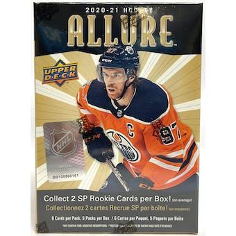 2020/21 Upper Deck Allure Hockey Blaster Box