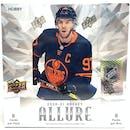 2020/21 Upper Deck Allure Hockey Hobby 10-Box Case- DACW Live 31 Spot Random Team Break #2