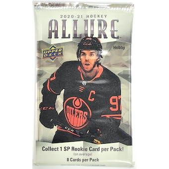 2020/21 Upper Deck Allure Hockey Hobby Pack