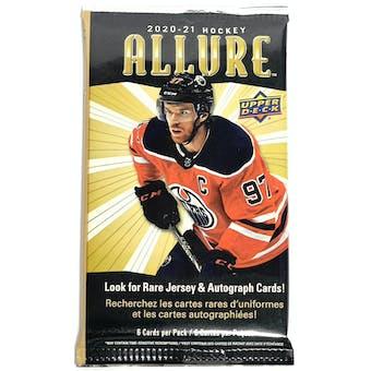 2020/21 Upper Deck Allure Hockey Retail Pack