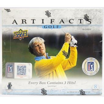 2021 Upper Deck Artifacts Golf Hobby Box