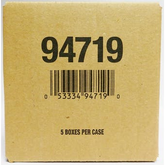 2020/21 Upper Deck Black Diamond Hockey Hobby 5-Box Case