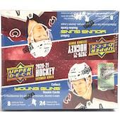 2020/21 Upper Deck Extended Series Hockey 24-Pack Box