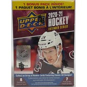 2020/21 Upper Deck Extended Series Hockey 7-Pack Blaster Box