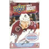 2020/21 Upper Deck Extended Series Hockey Hobby Box