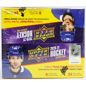 2020/21 Upper Deck Series 2 Hockey 24-Pack Box