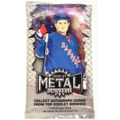 2020/21 Upper Deck Skybox Metal Universe Hockey Hobby Pack
