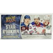 2020/21 Upper Deck NHL Rookie Box Set Hockey Hobby Box