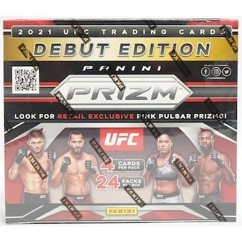 2021 Panini Prizm UFC 24-Pack Retail Box