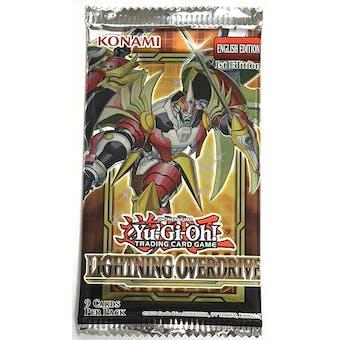 Yu-Gi-Oh Lightning Overdrive Booster Pack