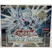 Yu-Gi-Oh Dawn of Majesty Booster Box