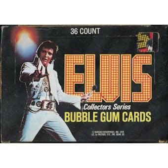 Elvis Presley Wax Box (1978 Donruss)