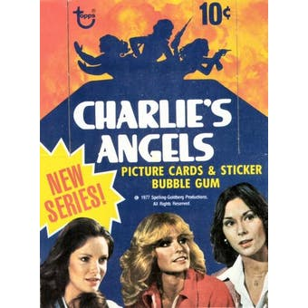 Charlie's Angels Series 2 Wax Box (1977-78 Topps)