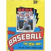 1986 Topps Baseball Wax Box (Reed Buy)