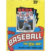 1986 Topps Baseball Wax Box (Reed Buy)