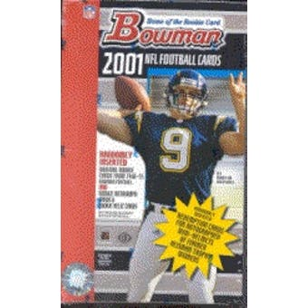 2001 Bowman Football Hobby Box