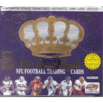 2001 Pacific Crown Royale Football Hobby Box