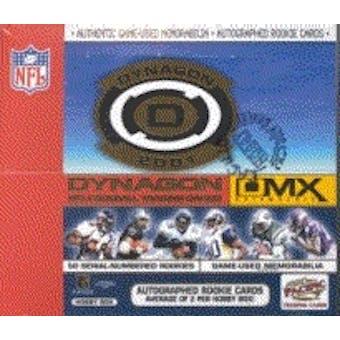2001 Pacific Dynagon DMX Football Hobby Box