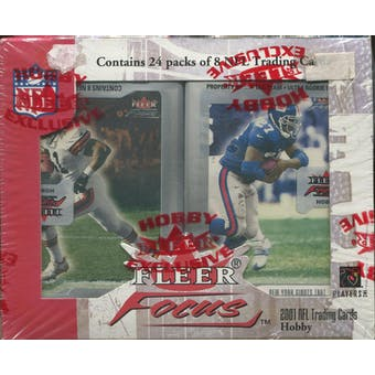 2001 Fleer Focus Football Hobby Box