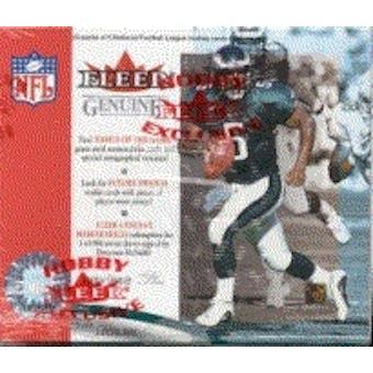 2001 Fleer Genuine Football Hobby Box
