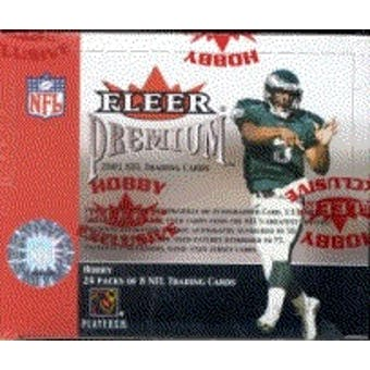 2001 Fleer Premium Football Hobby Box