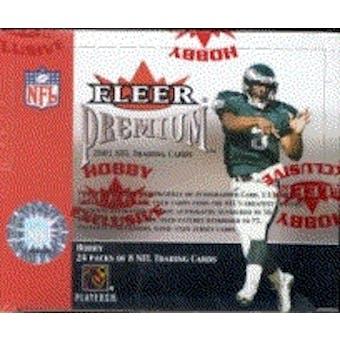 2001 Fleer Premium Football Hobby Box