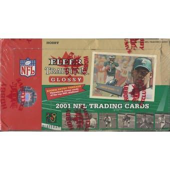 2001 Fleer Tradition Glossy Football Hobby Box