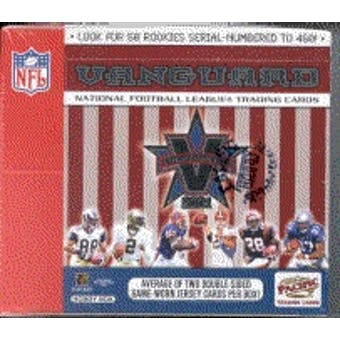 2001 Pacific Vanguard Football Hobby Box