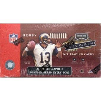 2001 Playoff Absolute Memorabilia Football Hobby Box