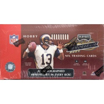 2001 Playoff Absolute Memorabilia Football Hobby Box