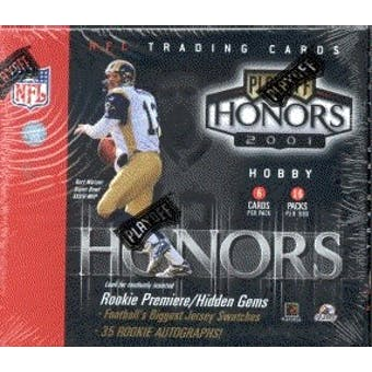 2001 Playoff Honors Football Hobby Box