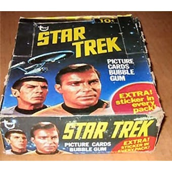 Star Trek Wax Box (1976 Topps)