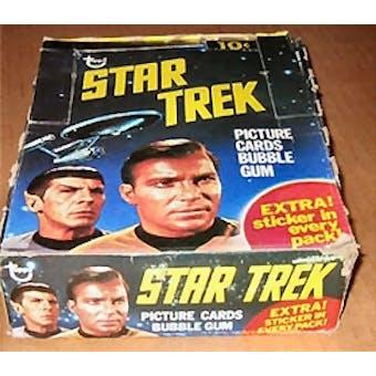 Star Trek Wax Box (1976 Topps)