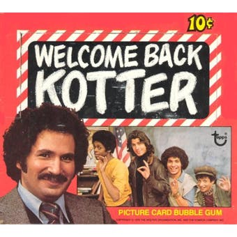 Welcome Back Kotter Wax Box (1976 Topps)
