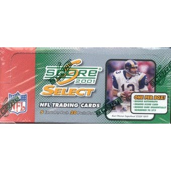 2001 Score Select Football Hobby Box