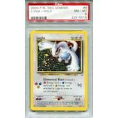 Pokemon Neo Genesis Single Lugia 9/111 PSA 8