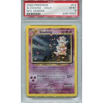 Pokemon Neo Genesis Slowking 14/111 PSA 9